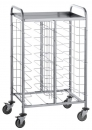 Tablettwagen 935x610x1460mm, für 20x Tabletts